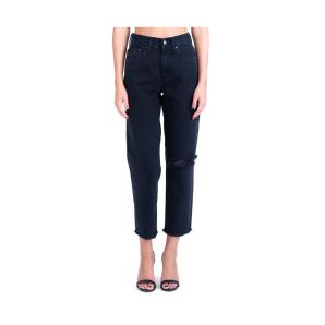 Salt & Pepper Barbara Black S/W Ripped
