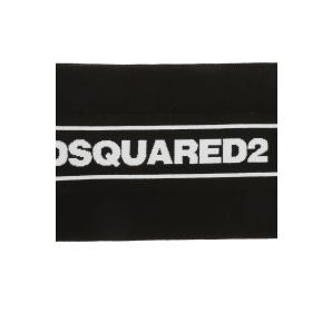 DSQUARED2 logo embroidered scarf KNM0012