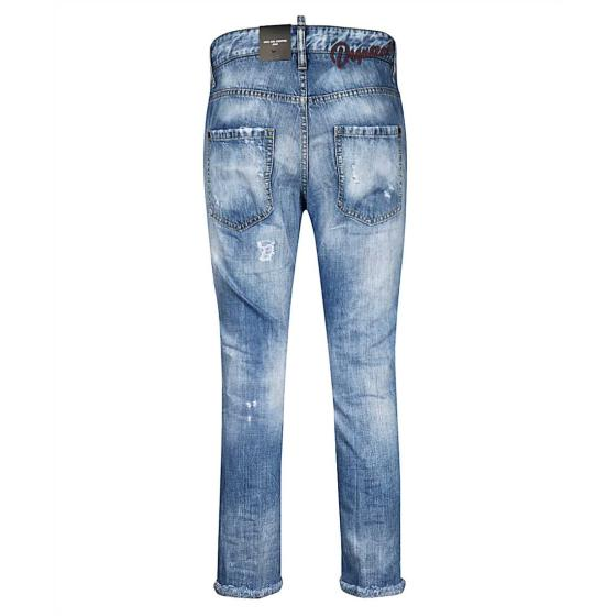 Dsquared2 cool girl cropped jeans S75LB0318-1