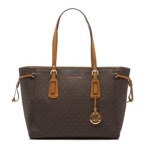 MICHAEL KORS Voyager Medium Logo Tote Bag 30F8GV6T2B
