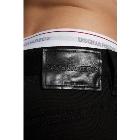 Dsquared2 resin treatment 3D skater jeans S74LB0695-3