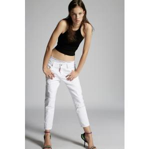 DSQUARED2 Bull Dyed Cool Girl Cropped Jeans S75LB0433