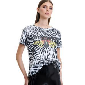 Libelloula rock zebra t-shirt 220-2-10-0012