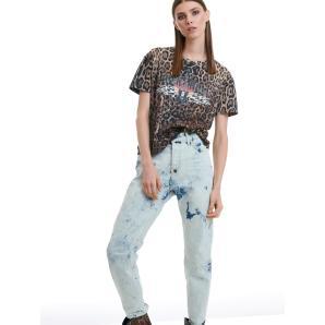 Libelloula rock leopard t-shirt 220-2-10-0010