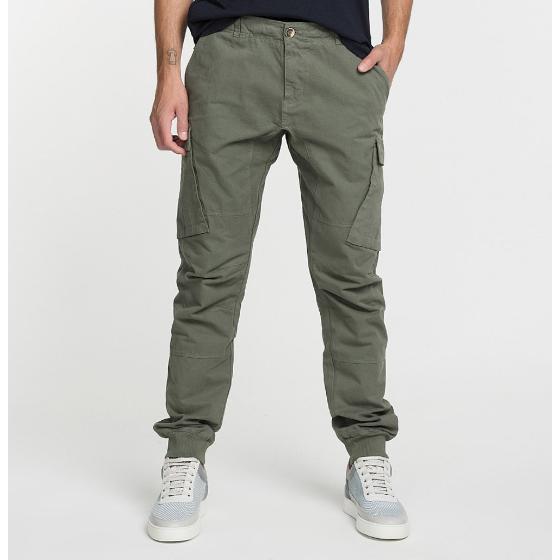 Cargo Cotton Pants Khaki The Project Garments-0