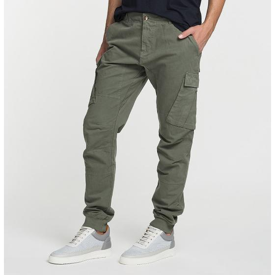 Cargo Cotton Pants Khaki The Project Garments-2