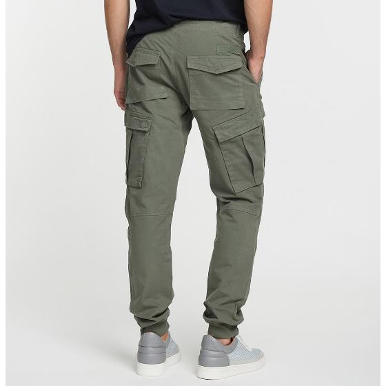 Cargo Cotton Pants Khaki The Project Garments-3