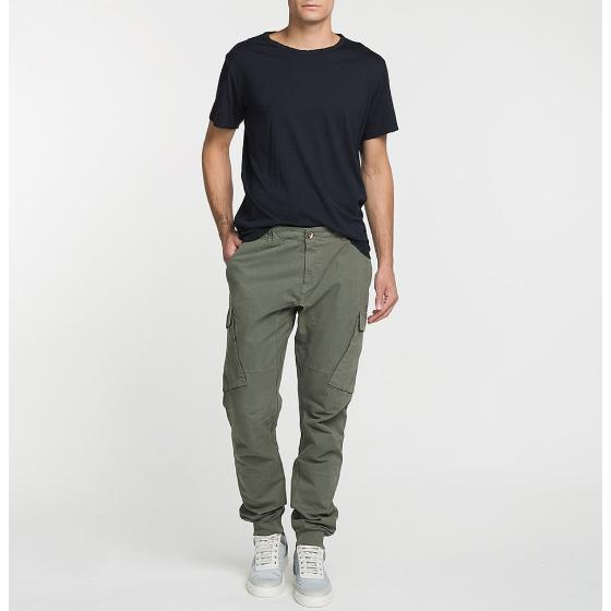 Cargo Cotton Pants Khaki The Project Garments-4