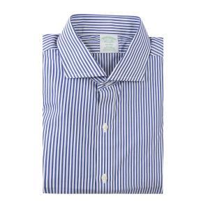 BROOKS BROTHERS tretch Milano Slim-Fit Dress Shirt, Non-Iron shirt 00149320