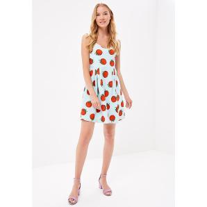 Compania Fantastica tomato dress SP18RAS05