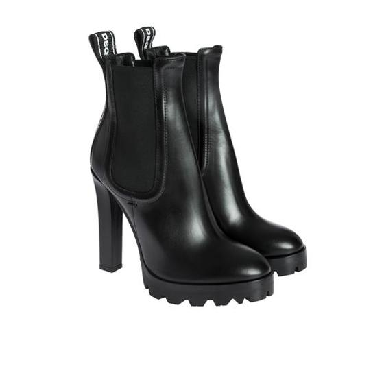 DSQUARED2 heeled ankle boots in black ABW0117 01501155 M436-1