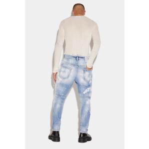 DSQUARED2 Bull Garment Slim Jeans S71LB0666