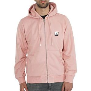 DIESEL Zip-up hoodie with D logo patch A00327