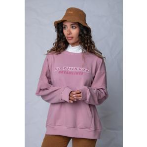 NO THINKIN Dreamlines oversized sweater