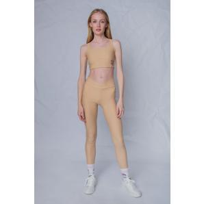 NO THINKIN V leggings κολάν