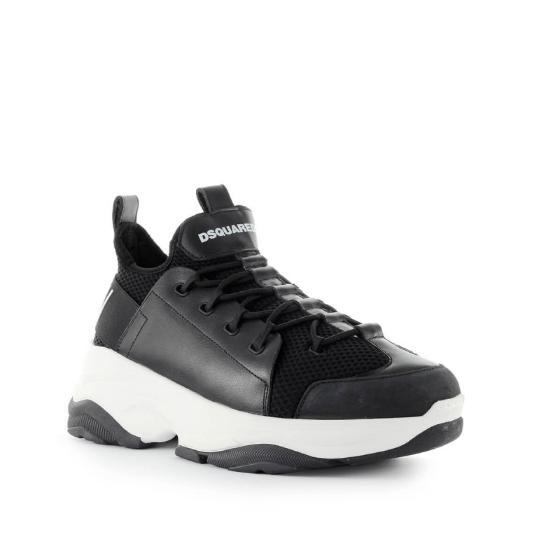 Dsquared2 bumpy icon black sneaker SNM0078-1