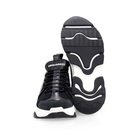Dsquared2 bumpy icon black sneaker SNM0078-3