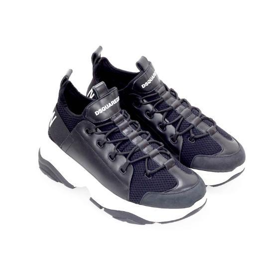 Dsquared2 bumpy icon black sneaker SNM0078-4
