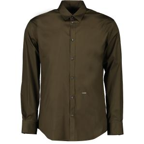 Dsquared2 Stretch Poplin Relax Dan Fit Shirt S71DM0406
