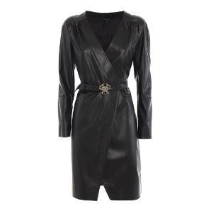 PINKO ottavio faux leather dress 1G152B Y6BE