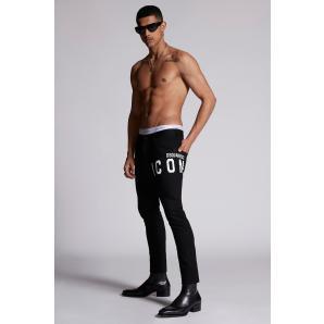 DSQUARED2 Icon Black Bull Skater Jean S79LA0034