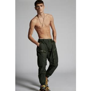 DSQUARED2 Nylon Ultimate Sport Cargo Trousers S74KB0483