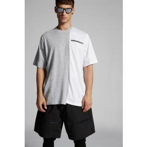 DSQUARED2 Bi-Chrome T-Shirt S74GD0847