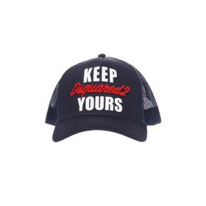DSQUARED2 BASEBALL CAP WITH EMBROIDERED LOGO BCM0086