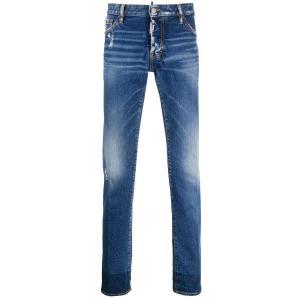 DSQUAD Medium Clean Slim Jeans S71LB0642