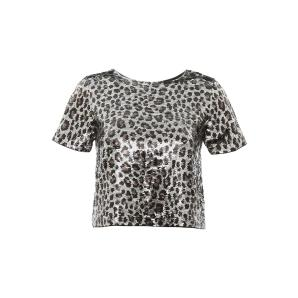 MICHAEL KORS Sequined Leopard Top MF95M2CCJE