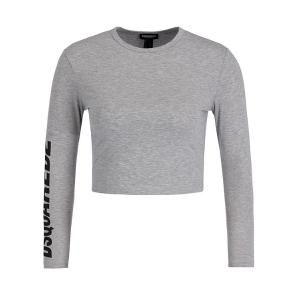 DSQUARED2 Cropped Long Sleeve T-shirt D8D902520