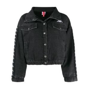 KAPPA logo tape denim jacket 304P340