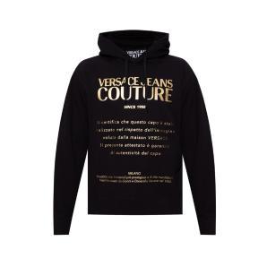VERSACE printed hoodie B7GWA7TW