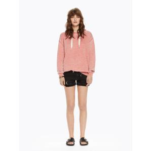 SCOTCH & SODA Coloured Burnout Hoodie 144582