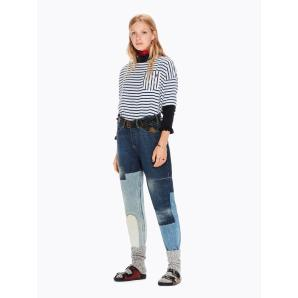 SCOTCH & SODA Mixed Stripe Top 144621