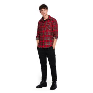 SCOTCH & SODA Brushed Check Shirt  Regular fit 145422