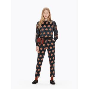 SCOTCH & SODA Snow Leopard Jacquard Trousers 146696