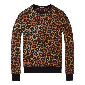 SCOTCH & SODA Leopard Print Sweater 145472