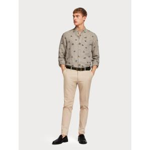 SCOTCH & SODA Mott - Lightweight Chinos  Super slim fit 148780