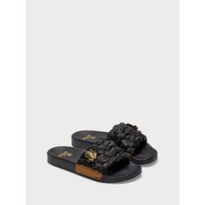 SCOTCH & SODA Alie - Raffia Slides 18709483