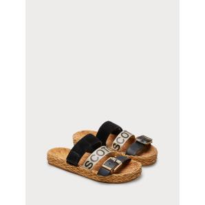 SCOTCH & SODA Angle - Logo Sandals 18763597