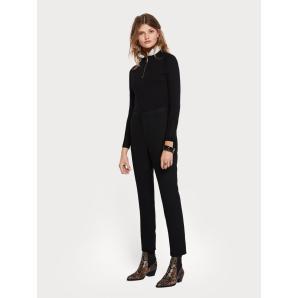 SCOTCH & SODA Clean Loose Fit Trousers 147711