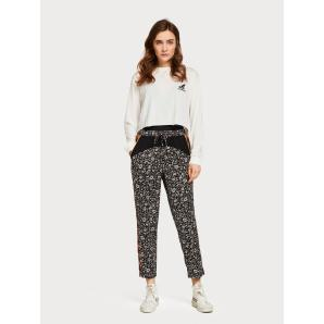 SCOTCH & SODA Mixed Print Trousers 149916