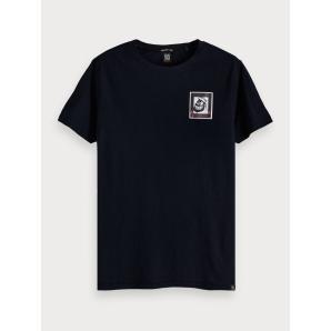 SCOTCH & SODA Artwork Detail T-Shirt  Brutus150538