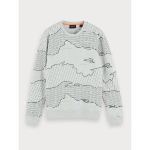 SCOTCH & SODA All-Over Printed Sweater 150523