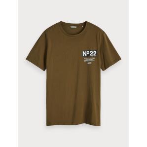 SCOTCH & SODA Back Artwork T-Shirt 152310