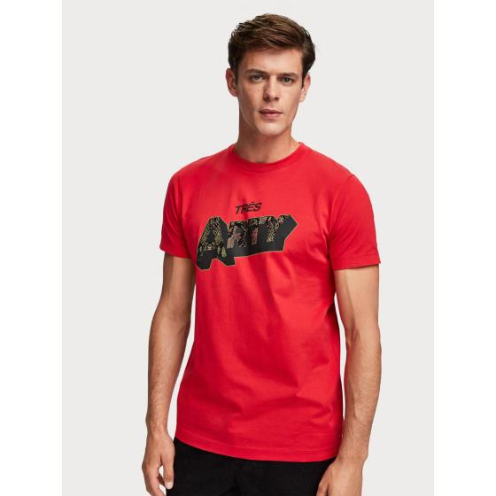 Scotch & Soda Crew Neck T-Shirt 152308-2