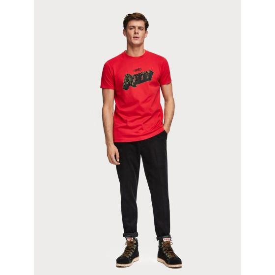Scotch & Soda Crew Neck T-Shirt 152308-3