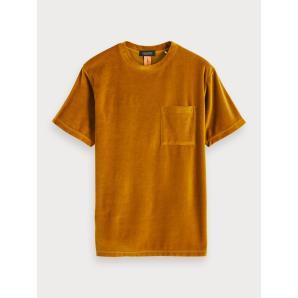 SCOTCH & SODA Velvet T-Shirt 152105