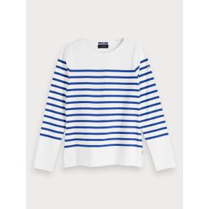 Scotch & soda classic breton stripe t-shirt 155887